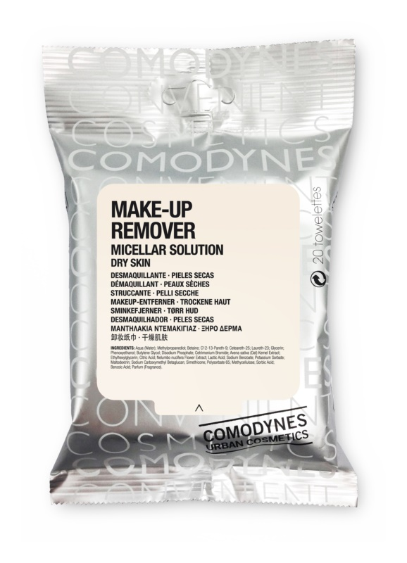 Comodynes Make-up Remover Micellar Solution odličovacie obrúsky pre suchú pleť