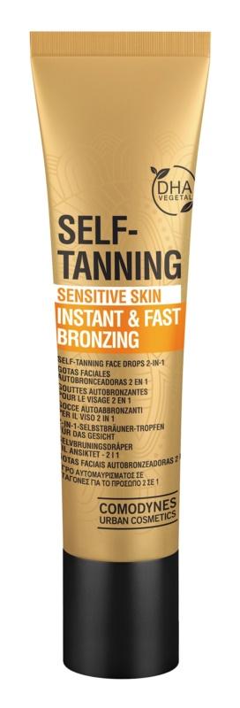 Comodynes Self-Tanning samoopaľovacie kvapky na tvár