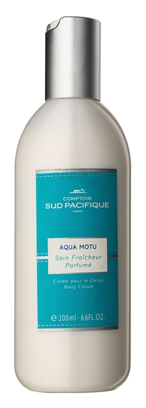 Comptoir Sud Pacifique Aqua Motu Body Cream for Women 200 ml