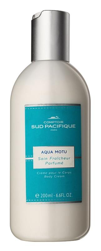 Comptoir Sud Pacifique Aqua Motu crème corps pour femme 200 ml