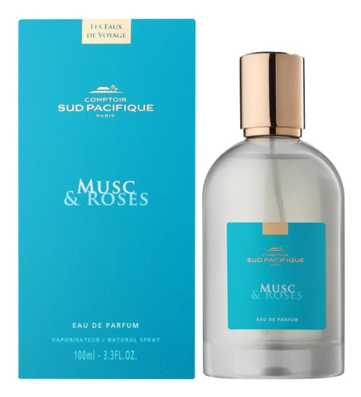 Comptoir Sud Pacifique Musc & Roses Eau de Parfum for Women 100 ml