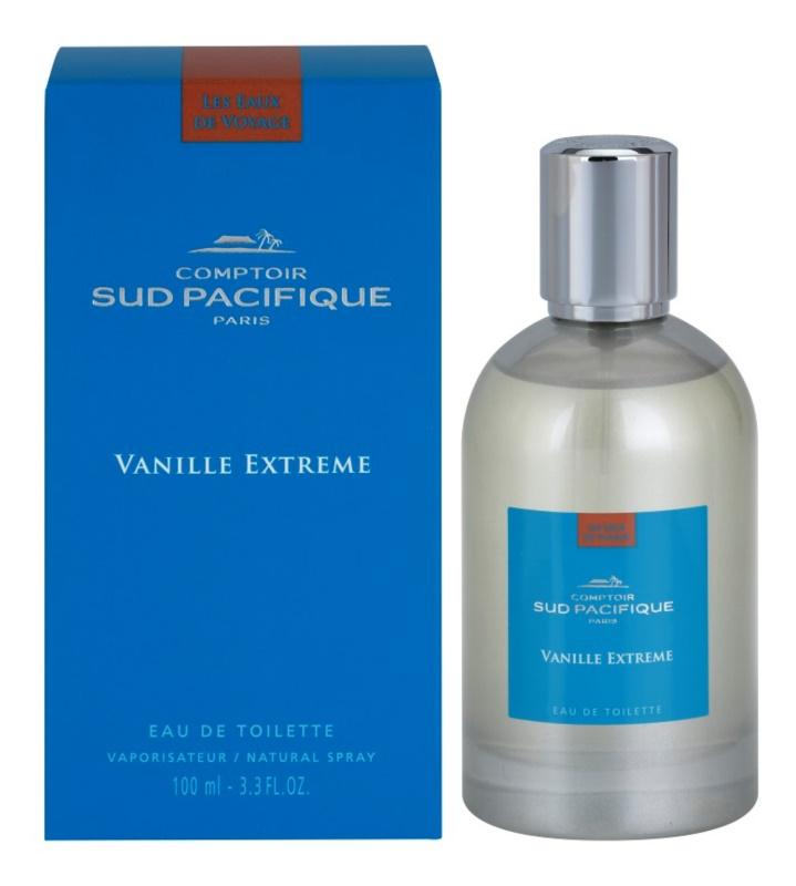 Comptoir Sud Pacifique Vanille Extreme Eau de Toilette para mulheres 100 ml