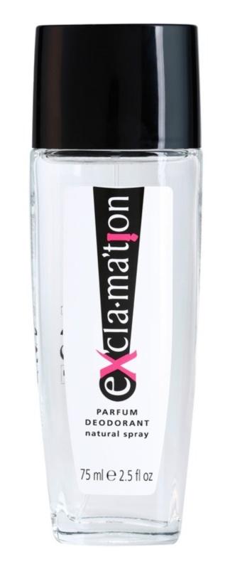Coty Exclamation Deo mit Zerstäuber für Damen 75 ml