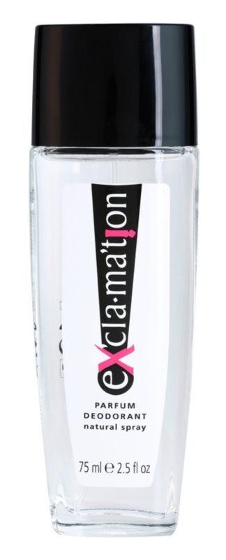 Coty Exclamation déodorant avec vaporisateur pour femme 75 ml