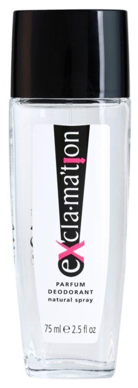 Coty Exclamation deodorant s rozprašovačem pro ženy 75 ml