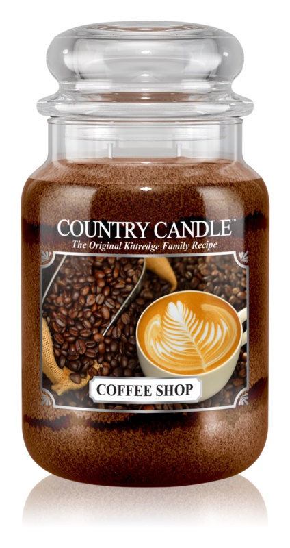 Country Candle Coffee Shop illatos gyertya  652 g