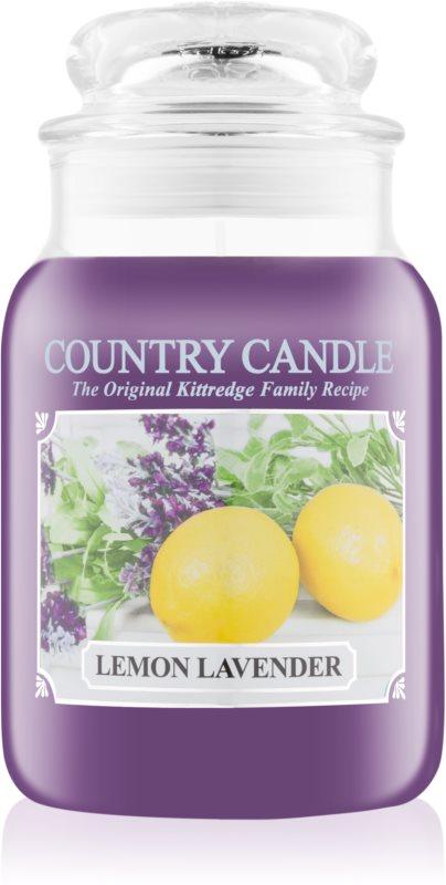 Country Candle Lemon Lavender lumânare parfumată  652 g