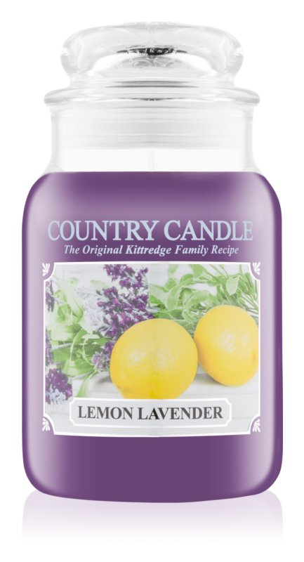 Country Candle Lemon Lavender vonná sviečka 652 g