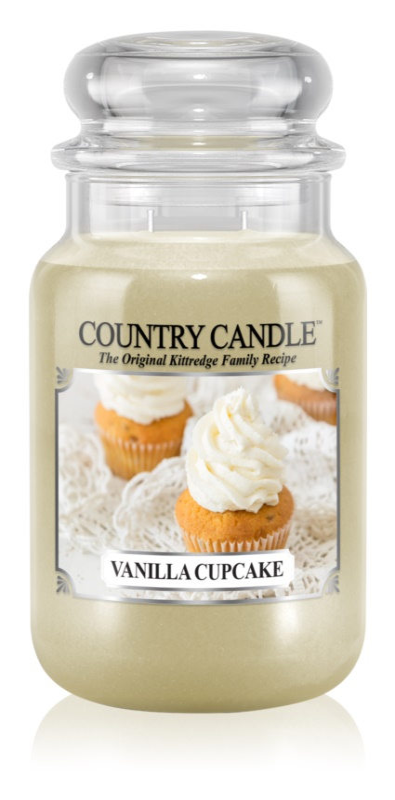 Country Candle Vanilla Cupcake vonná svíčka 652 g