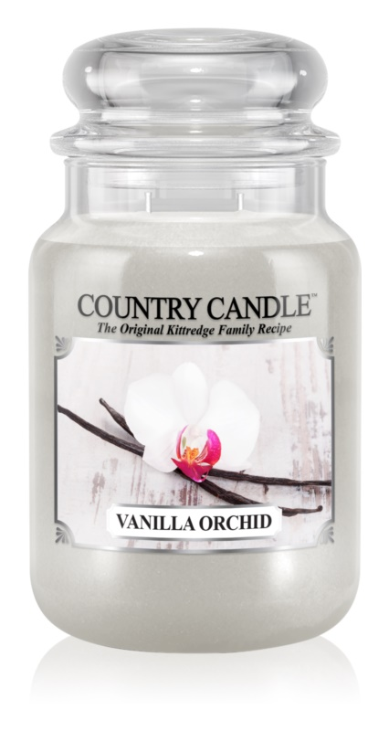 Country Candle Vanilla Orchid bougie parfumée 652 g