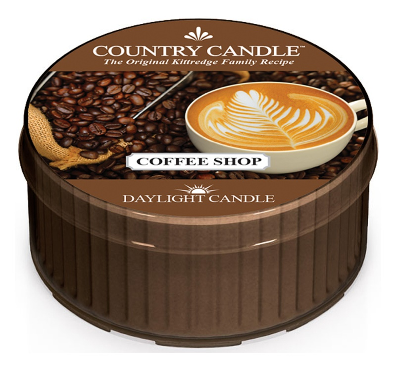 Country Candle Coffee Shop Duft-Teelicht 42 g