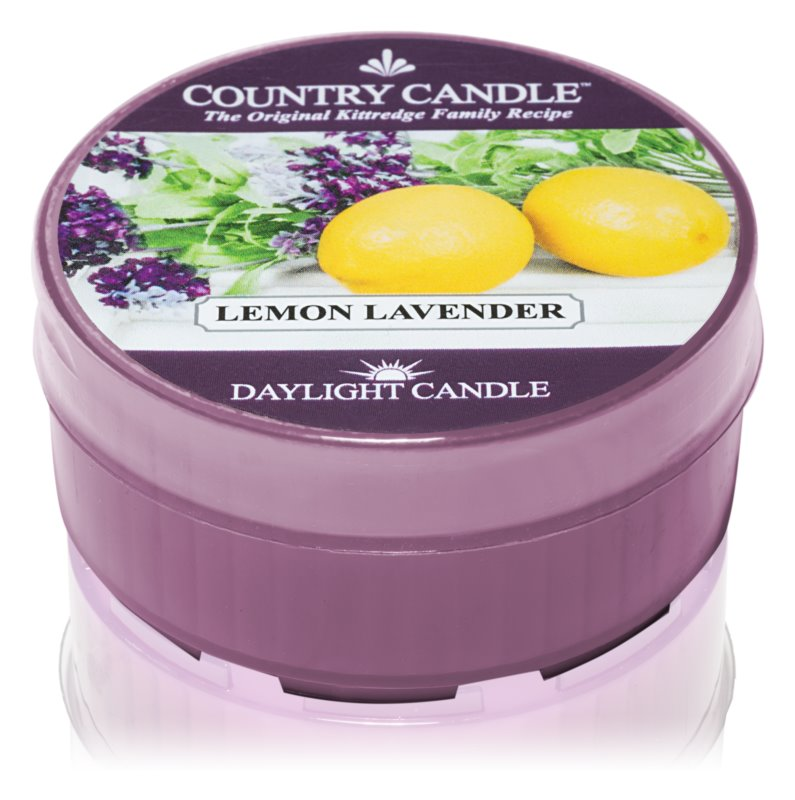 Country Candle Lemon Lavender čajna sveča 35 g