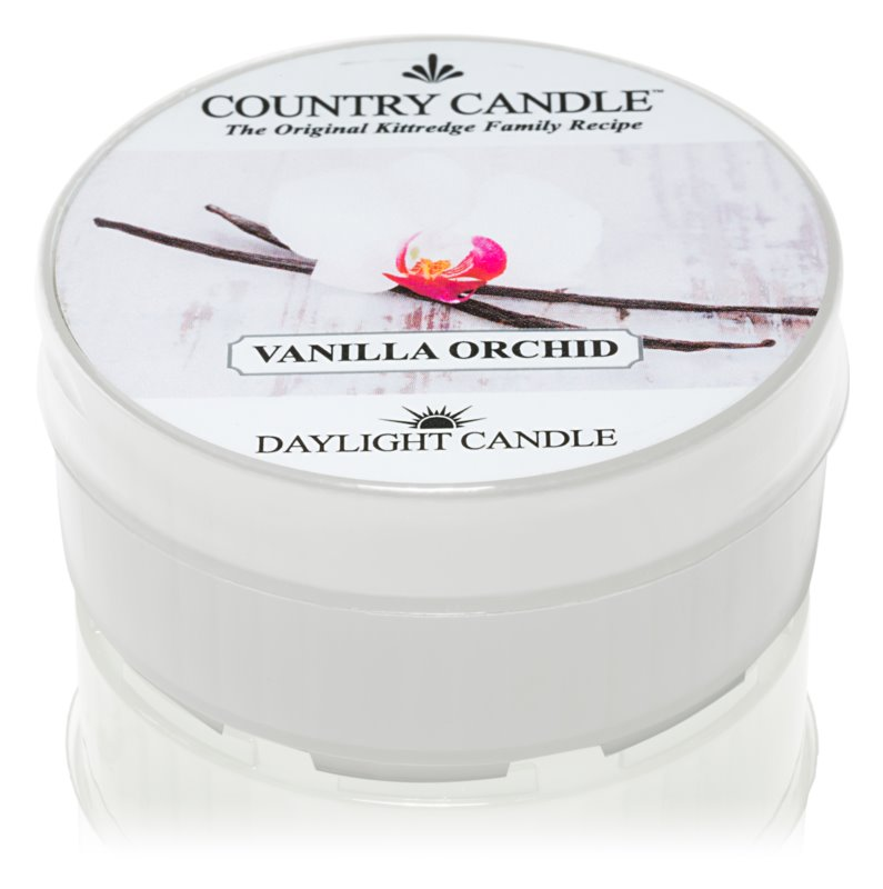 Country Candle Vanilla Orchid čajová sviečka 42 g