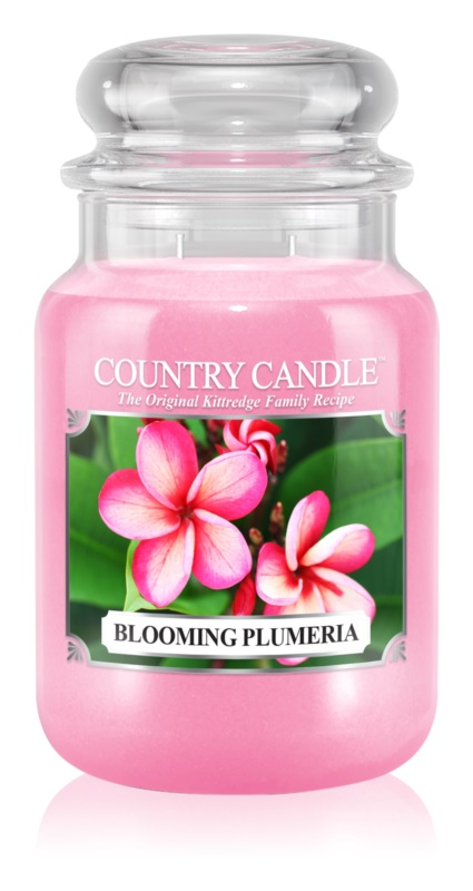 Country Candle Blooming Plumeria vonná sviečka 652 g