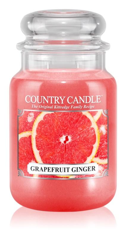 Country Candle Grapefruit Ginger dišeča sveča  652 g