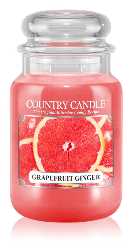 Country Candle Grapefruit Ginger Geurkaars 652 gr