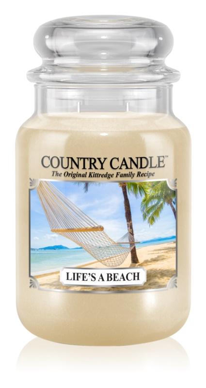 Country Candle Life's a Beach candela profumata 652 g