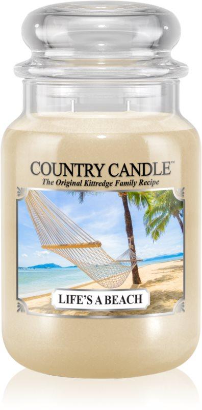 Country Candle Life's a Beach vonná svíčka 652 g