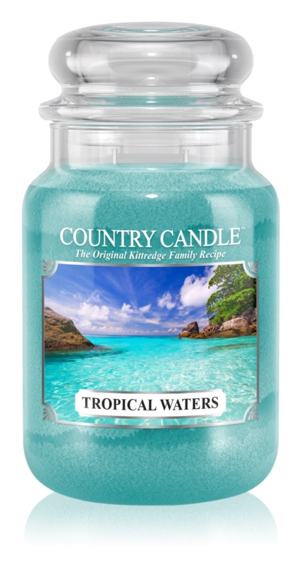 Country Candle Tropical Waters illatos gyertya  652 g