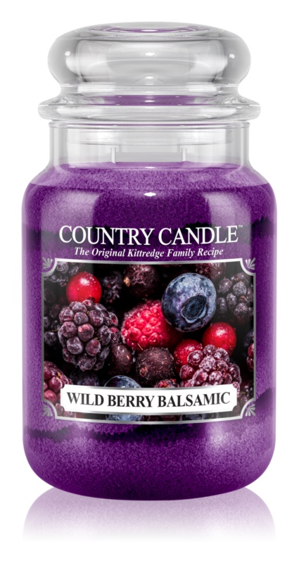 Country Candle Wild Berry Balsamic vonná svíčka 652 g