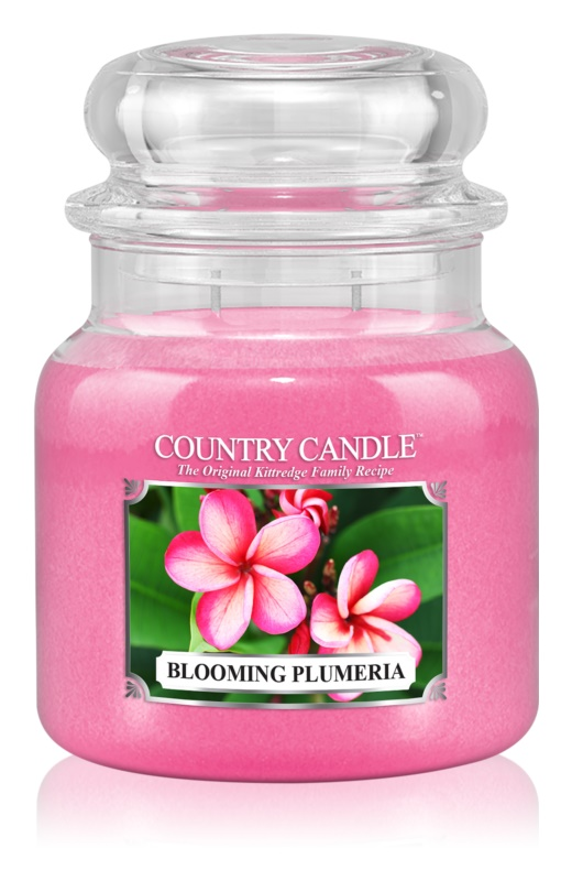 Country Candle Blooming Plumeria Scented Candle 453 g