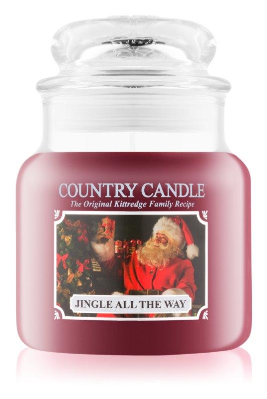 Country Candle Jingle All The Way vonná svíčka 453,6 g