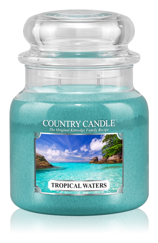 Country Candle Tropical Waters illatos gyertya  453 g
