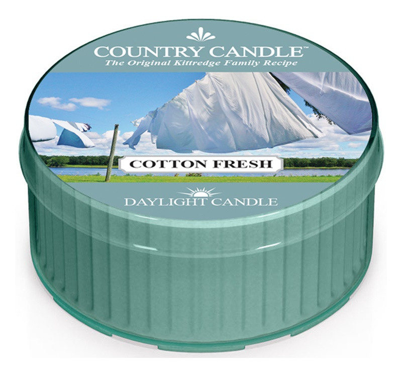 Country Candle Cotton Fresh candela scaldavivande 42 g
