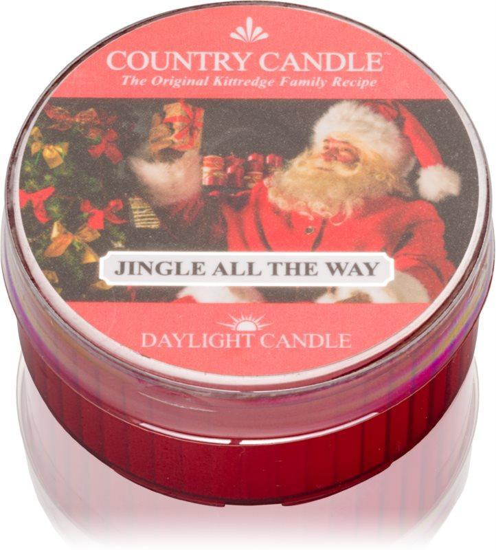 Country Candle Jingle All The Way čajna sveča 42 g