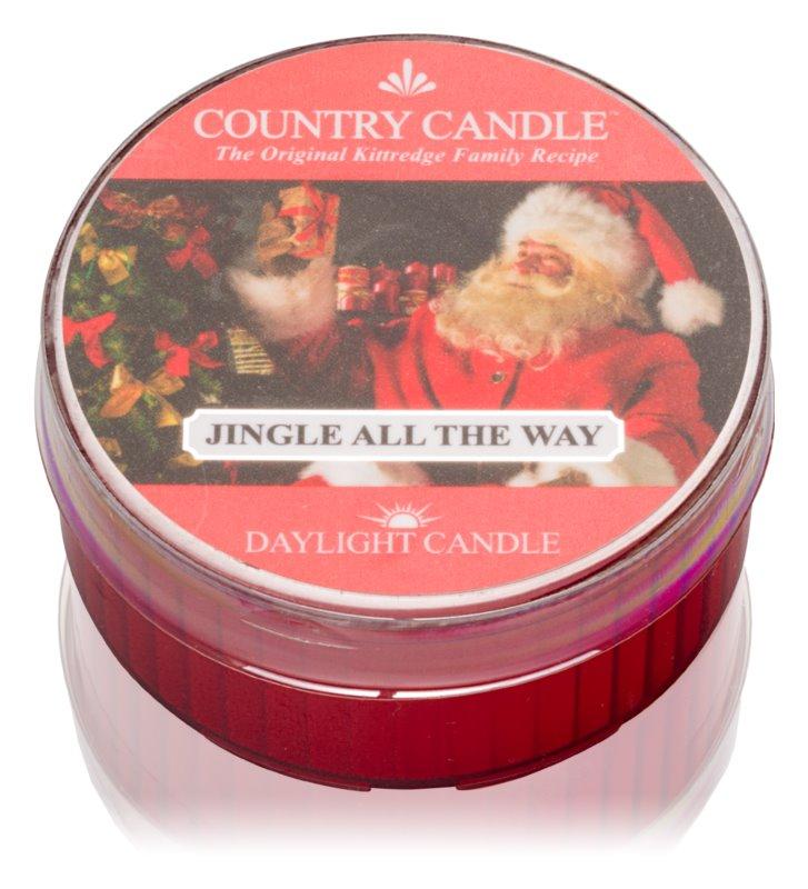 Country Candle Jingle All The Way čajová sviečka 42 g