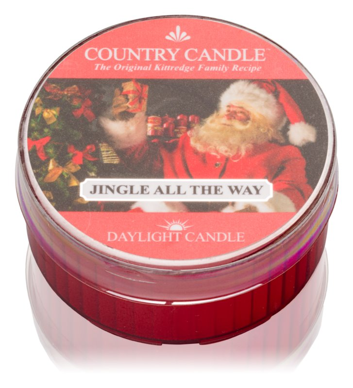 Country Candle Jingle All The Way Theelichtje  42 gr