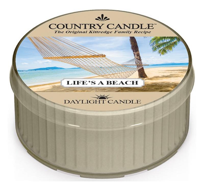 Country Candle Life's a Beach vela de té 42 g