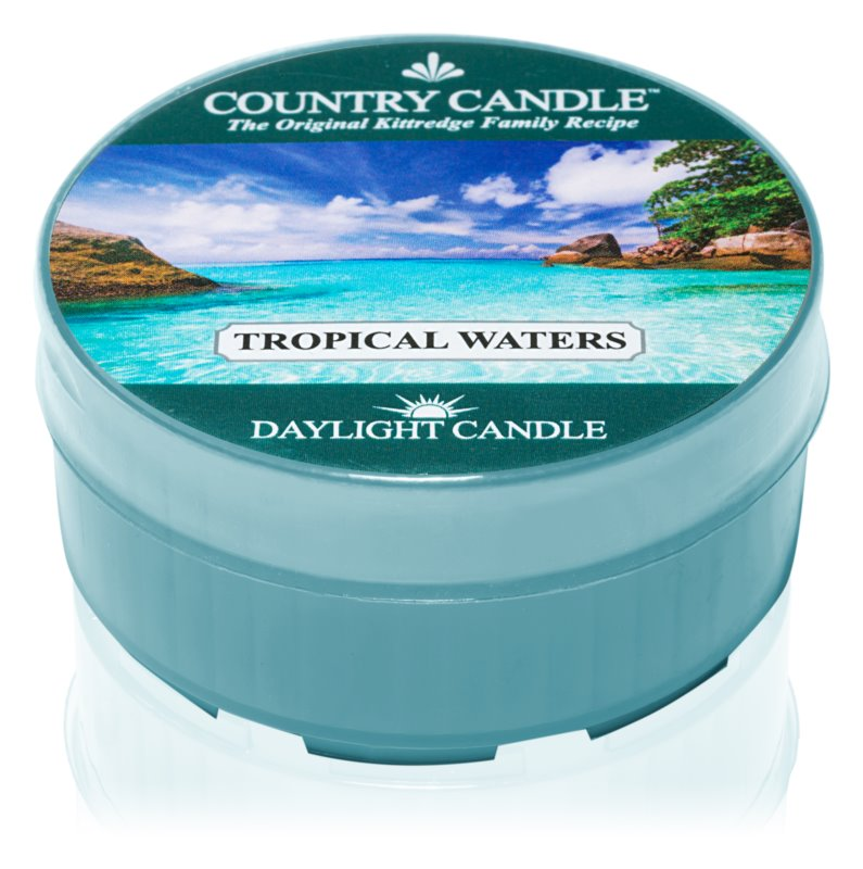 Country Candle Tropical Waters čajna sveča 42 g