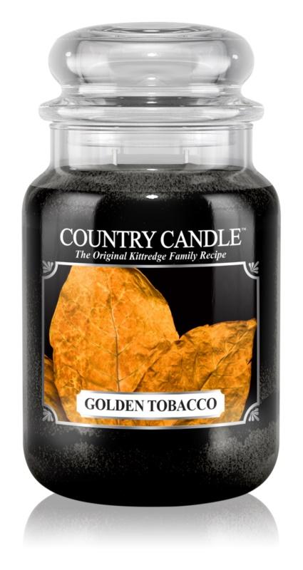 Country Candle Golden Tobacco vonná svíčka 652 g
