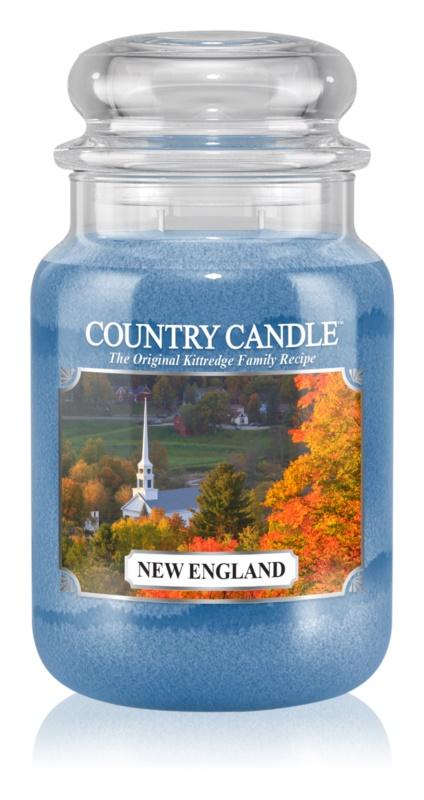 Country Candle New England ароматизована свічка  652 гр