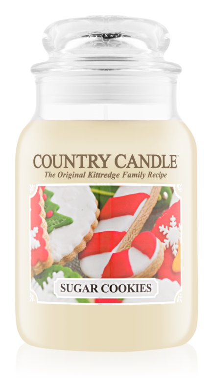 Country Candle Sugar Cookies bougie parfumée 652 g