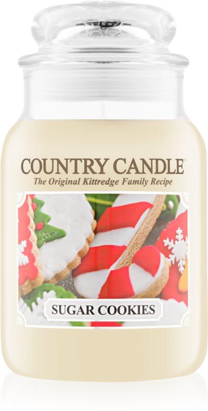 Country Candle Sugar Cookies vonná sviečka 652 g