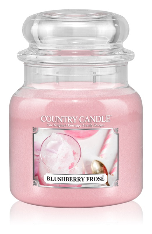 Country Candle Blushberry Frosé candela profumata 453 g