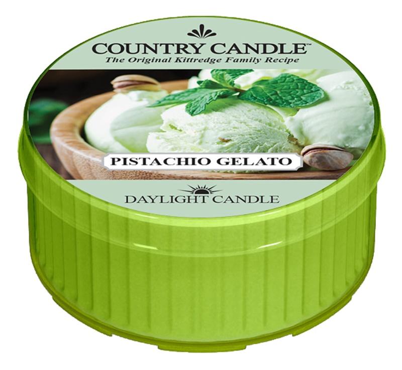 Country Candle Pistachio Gelato Theelichtje  42 gr