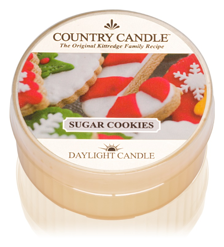 Country Candle Sugar Cookies čajová svíčka 42 g
