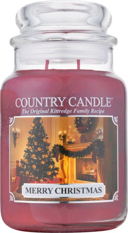 Country Candle Merry Christmas vonná svíčka 652 g