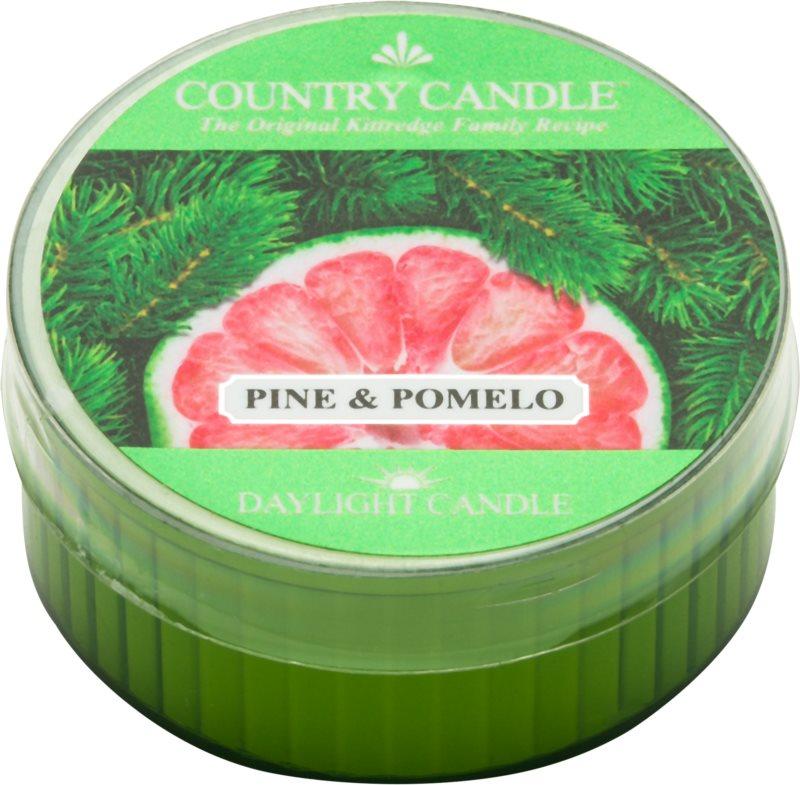 Country Candle Pine & Pomelo čajová sviečka 42 g