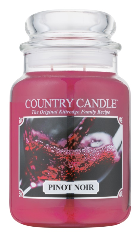 Country Candle Pinot Noir Scented Candle 652 g