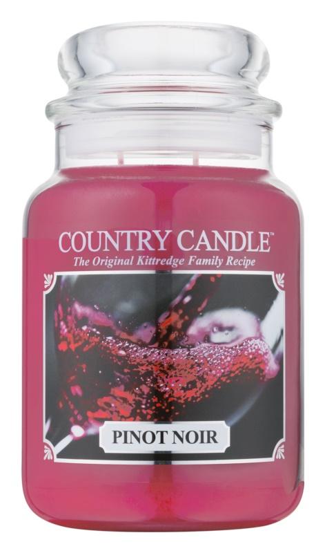 Country Candle Pinot Noir vonná svíčka 652 g