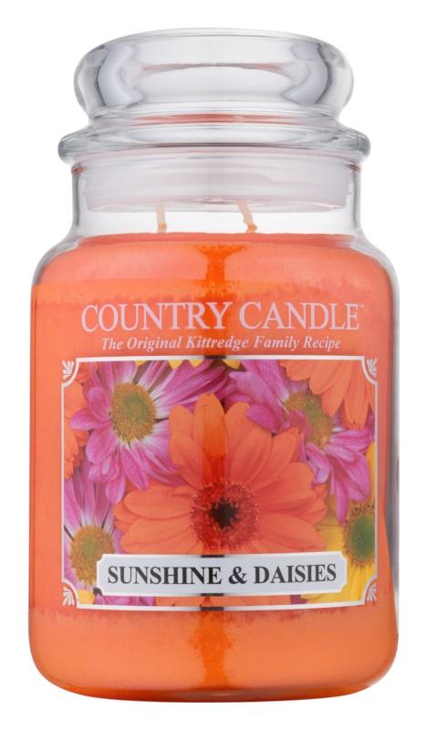 Country Candle Sunshine & Daisies lumanari parfumate  652 g
