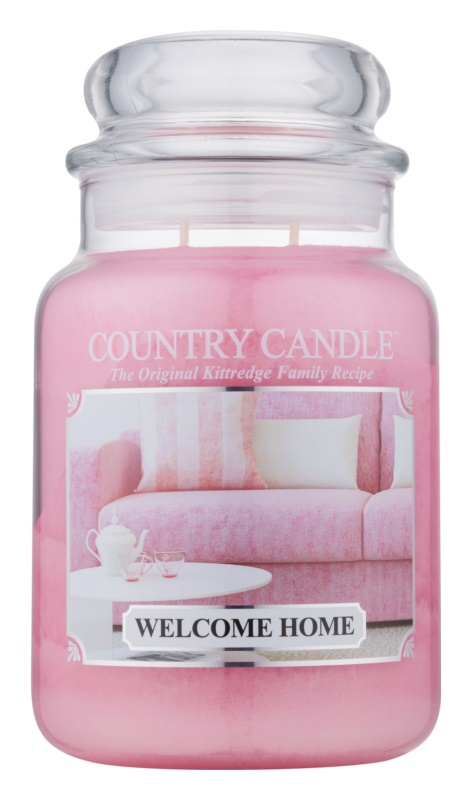 Country Candle Welcome Home bougie parfumée 652 g