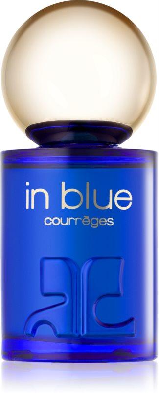 Courreges In Blue eau de parfum pentru femei 50 ml