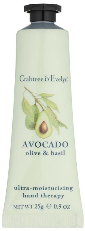 Crabtree & Evelyn Avocado crème hydratante mains