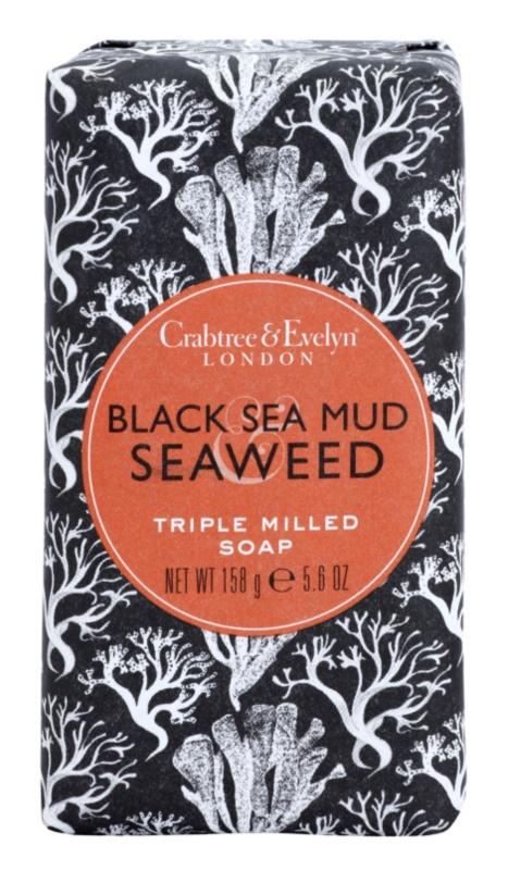 Crabtree & Evelyn Black Sea Mud & Seaweed luxusné mydlo s bahnom a morskými riasami