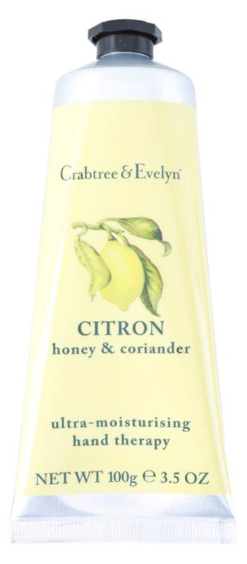 Crabtree & Evelyn Citron crema hidratante intensiva para manos